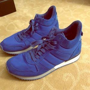 Electric blue Aldo sneakers